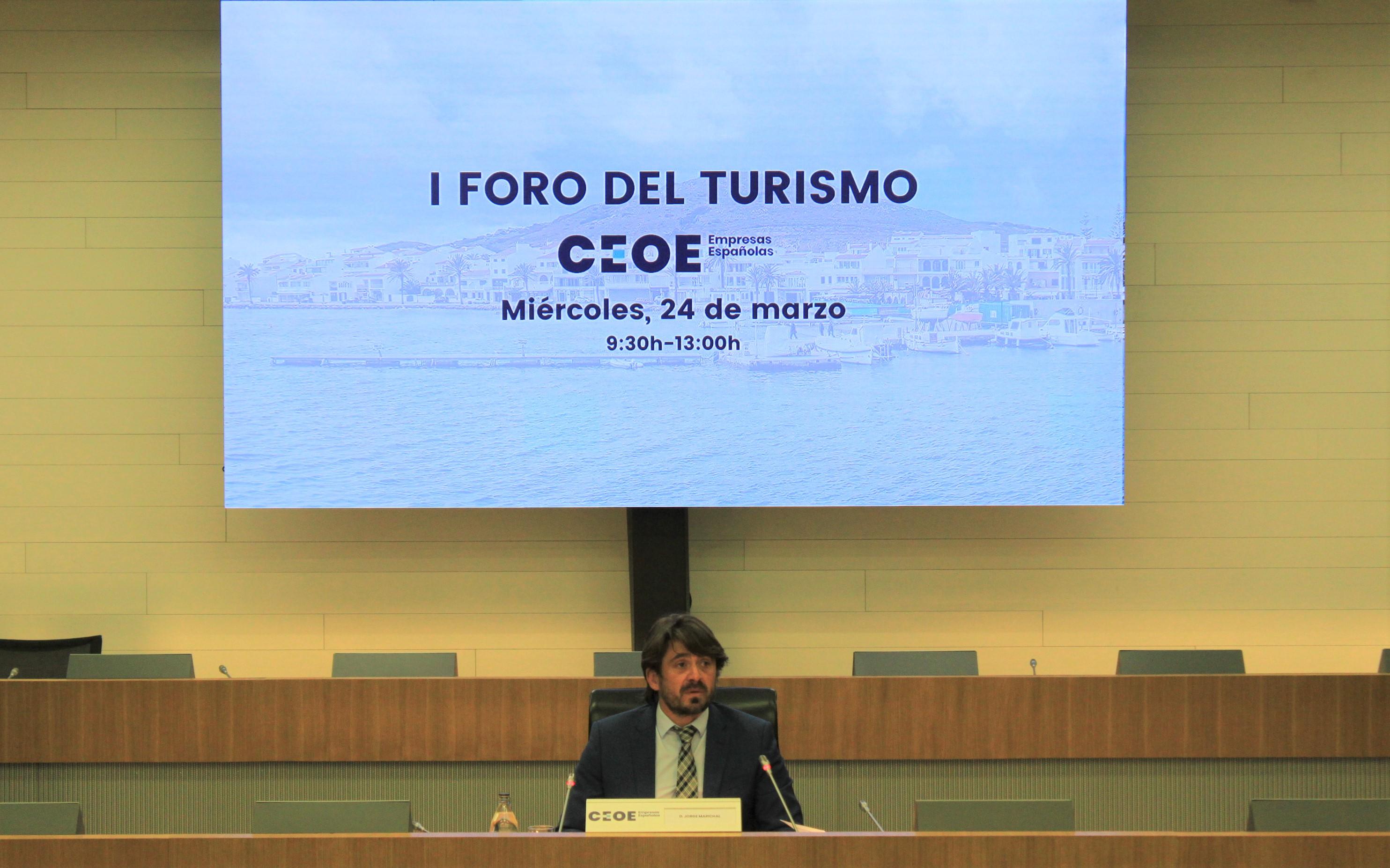 Jorge Marichal en el Foro de Turismo