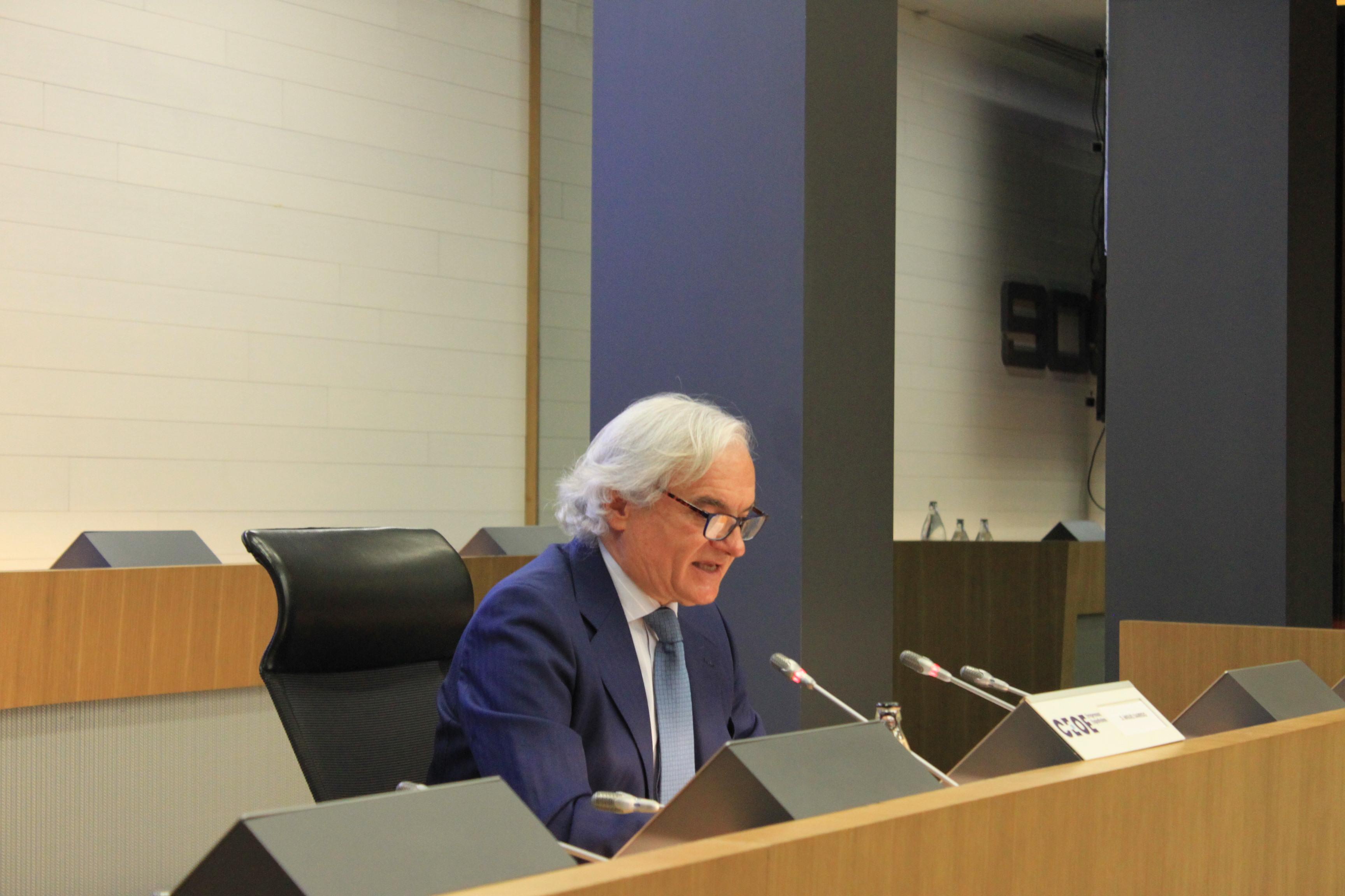 Miguel Garrido en el I Foro de Turismo