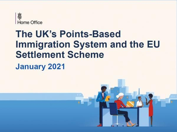 The UK's points based inmigration system and the EU settlement scheme