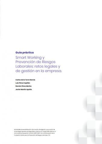 """Smart working"" y prevención de riesgos laborales"