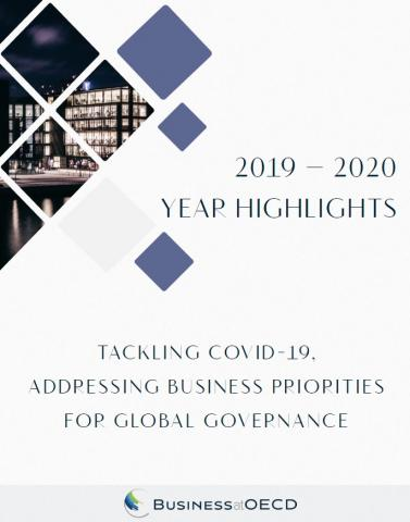 2019-2020 year highlights: tackling COVID-19, addressing business priorities for global gevernace